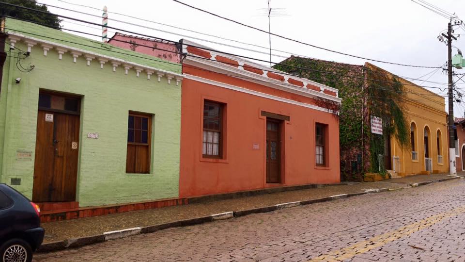 As ruas e casas de Joaquim Egídio
