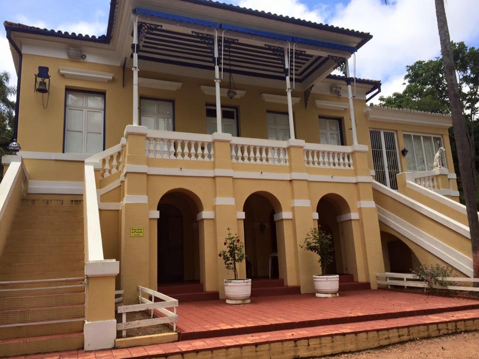 A Casa Grande, moradia do Barão na época e hoje ainda é moradia da nova geração da família. Também foi usada na gravação de novelas