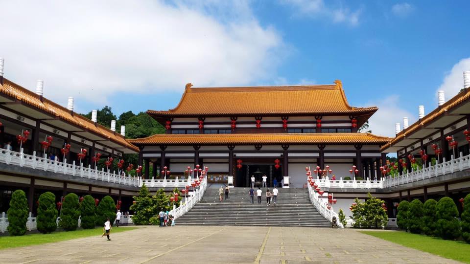 O templo, lindo e imponente!