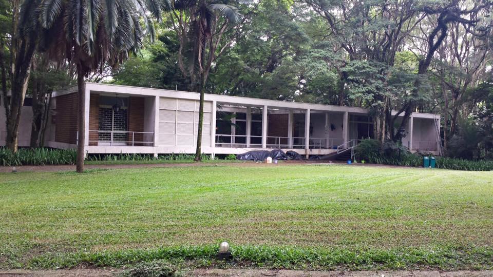 A casa foi transformada em um museu, que abriga um acervo muitio interessante