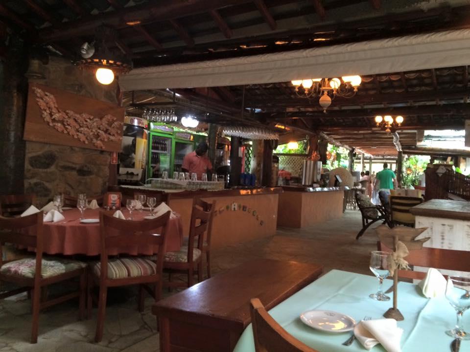 Ambiente interno do Vila Paraíso
