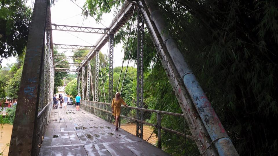 A ponte é parada obrigatória para fotos