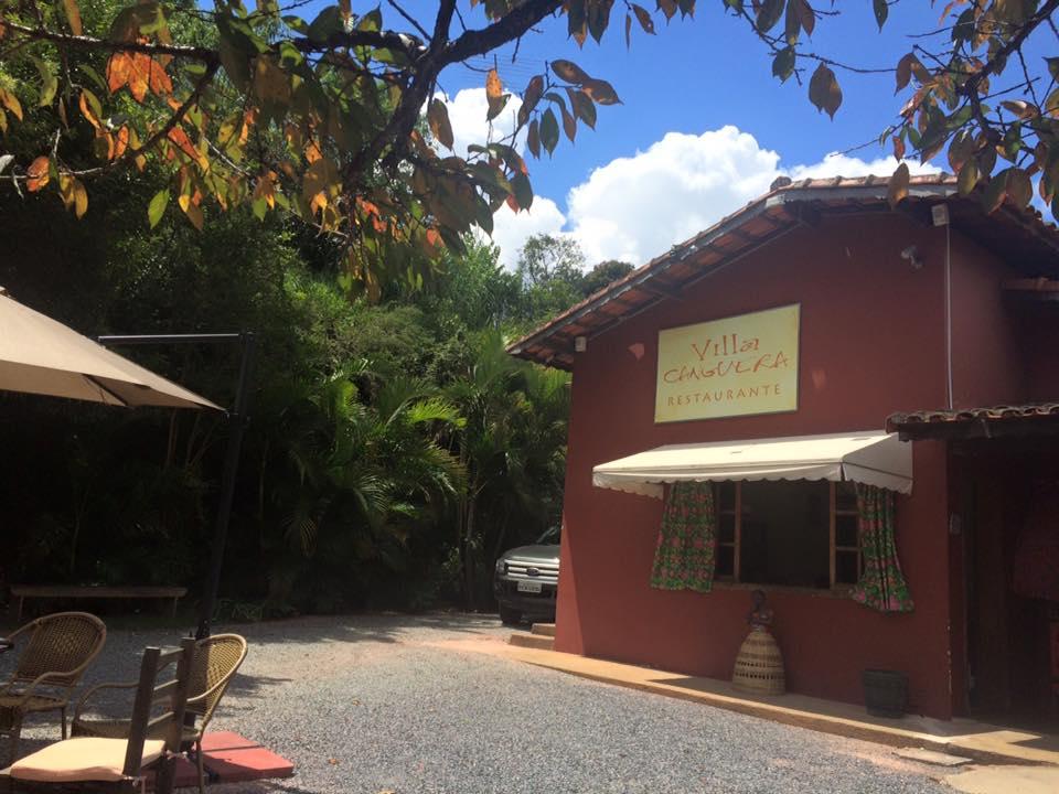 A entrada do local