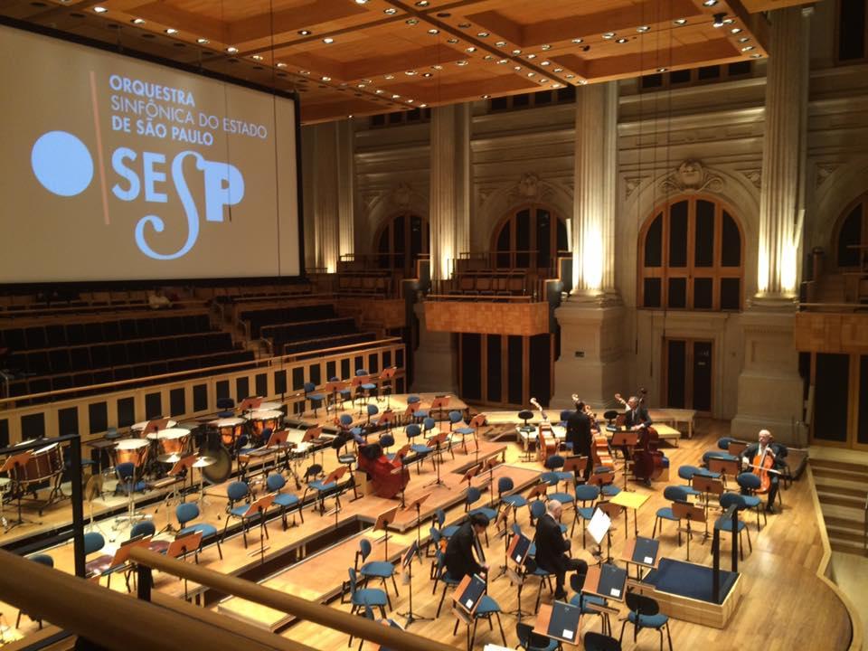 Sala São Paulo, palco de emocionantes apresentações da Orquestra Sinfônica de São Paulo