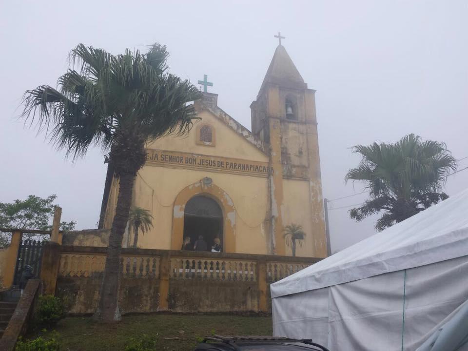 A antiga Igreja é a primeira parada na região