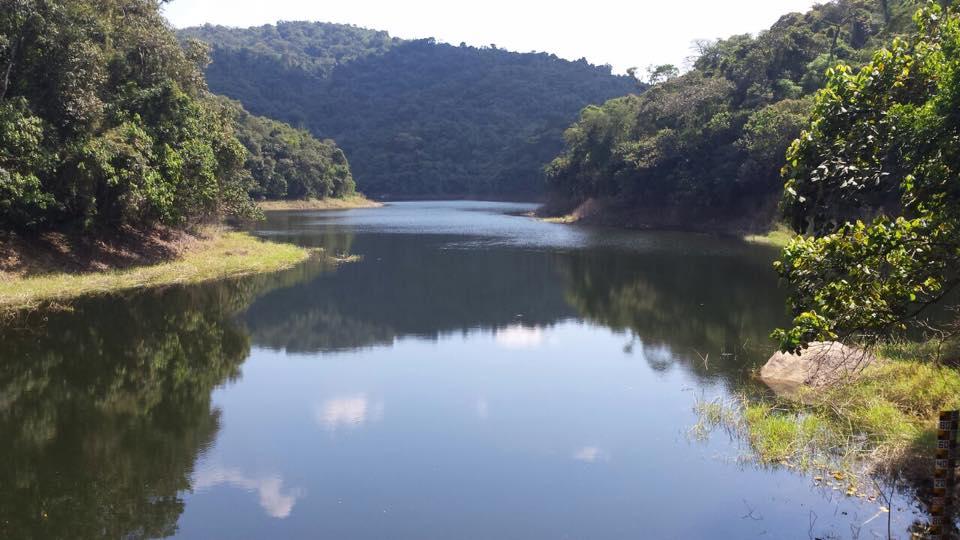 Parte da represa, que abastece a cidade!