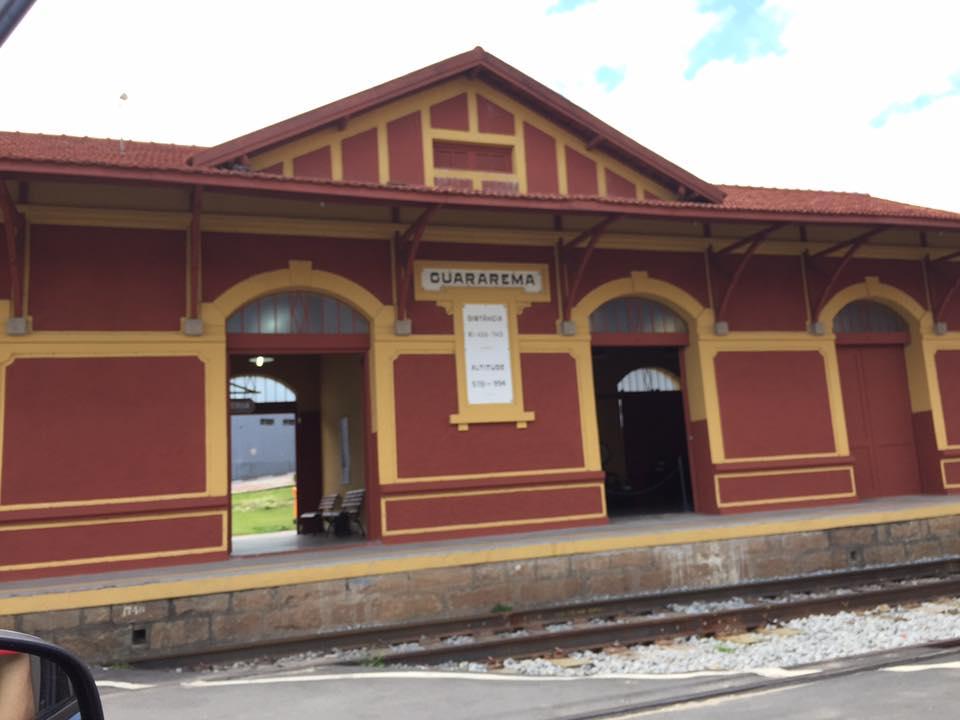 A Estação de Trem é um dos marcos da cidade