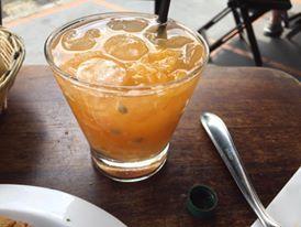 Caipirinha de tangerina