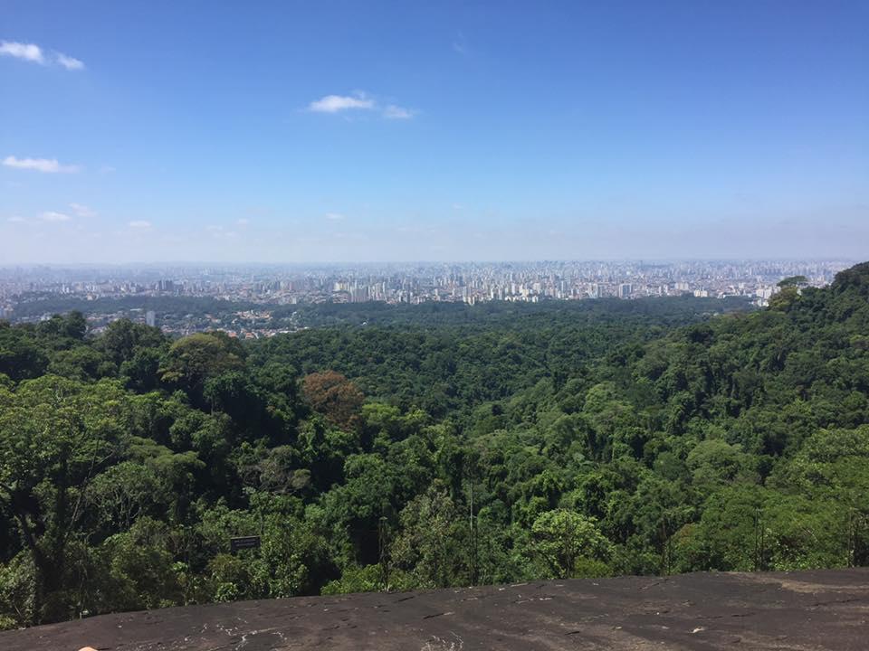 E no alto, essa é a vista!