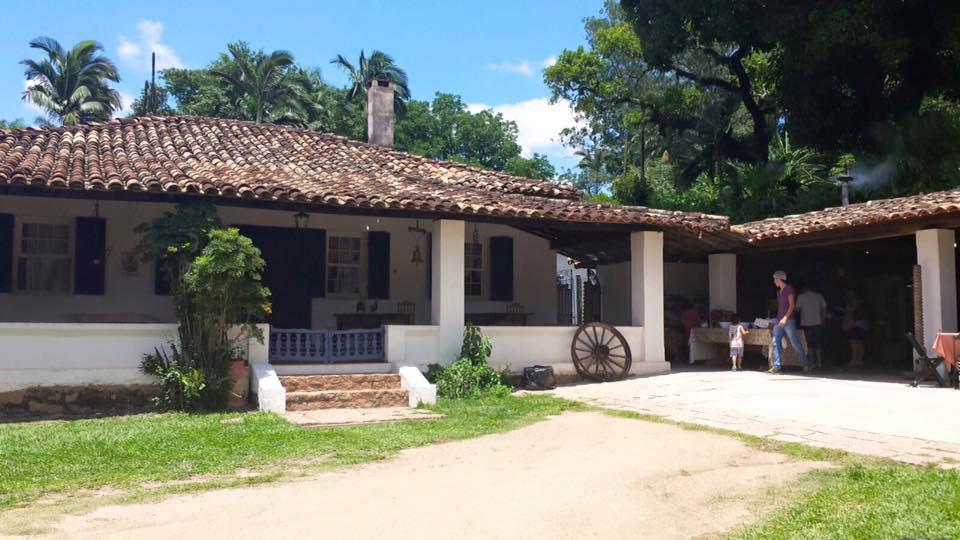 A Casa Grande na Fazendinha, local do almoço caipira