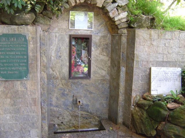 A fonte de Santa Luzia