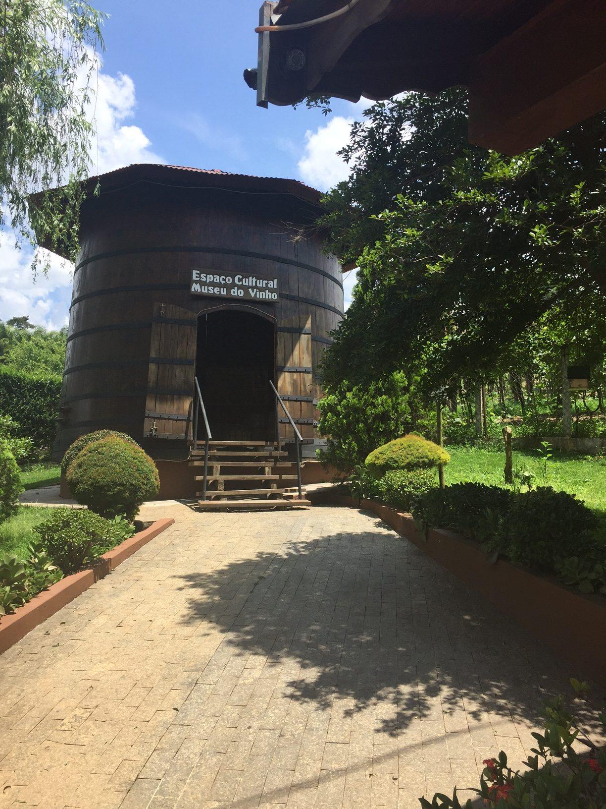 O Museu do Vinho, parada obrigatória para fotos