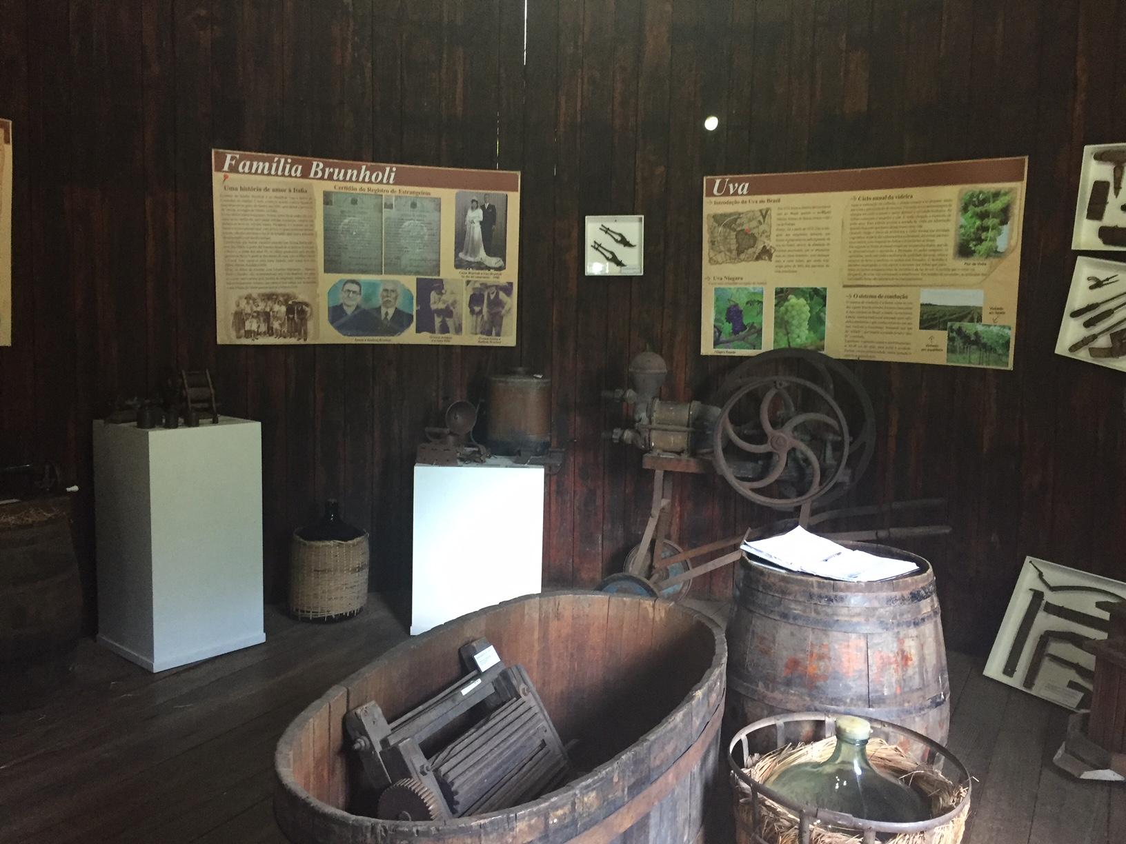 O museu visto por dentro