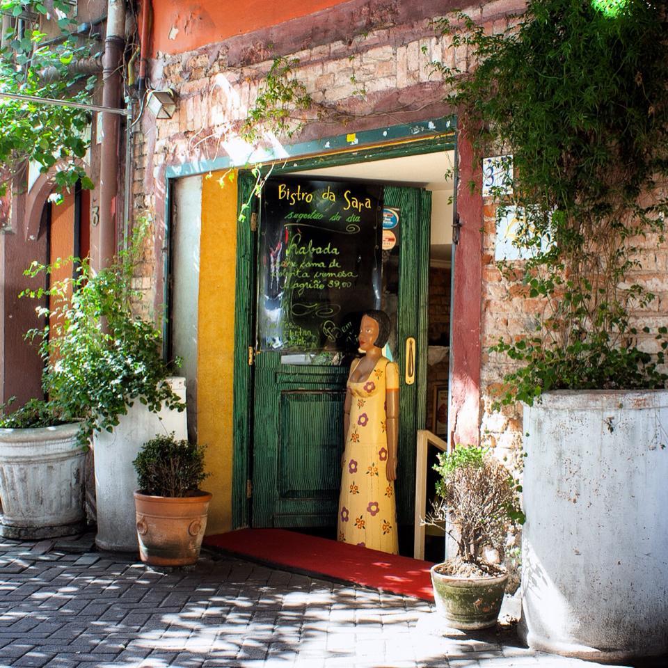 A charmosa entrada do local. Foto divulgação do site