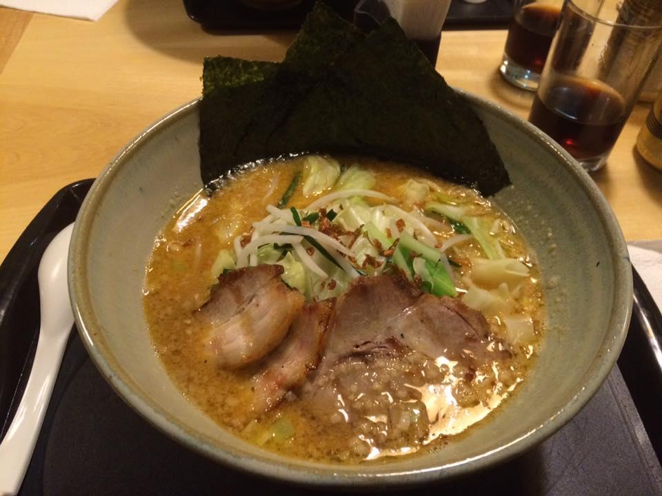 Autêntico lamen japonês, delicioso!