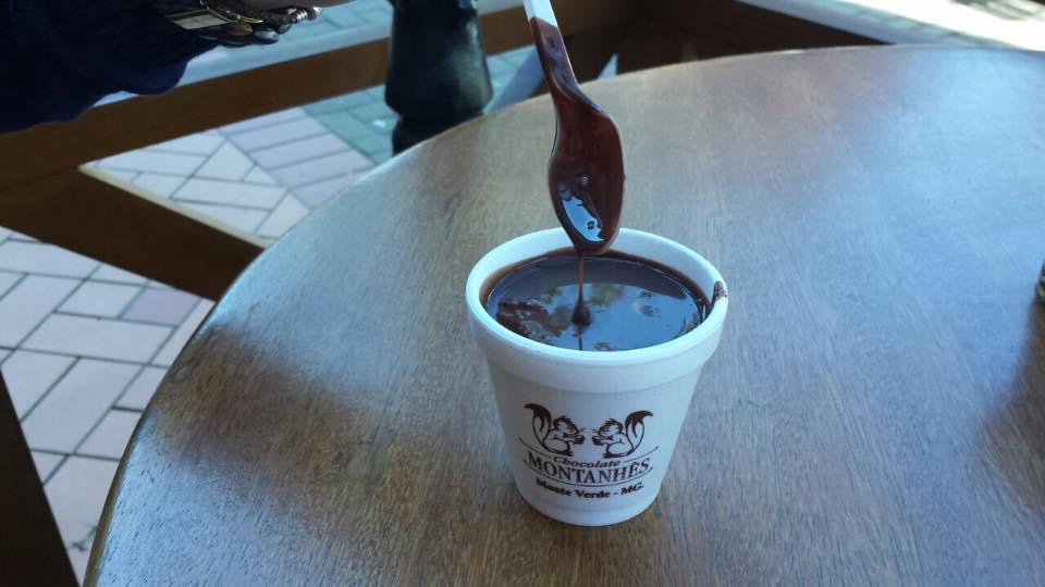 O premiado chocolate quente cremoso, delícia!