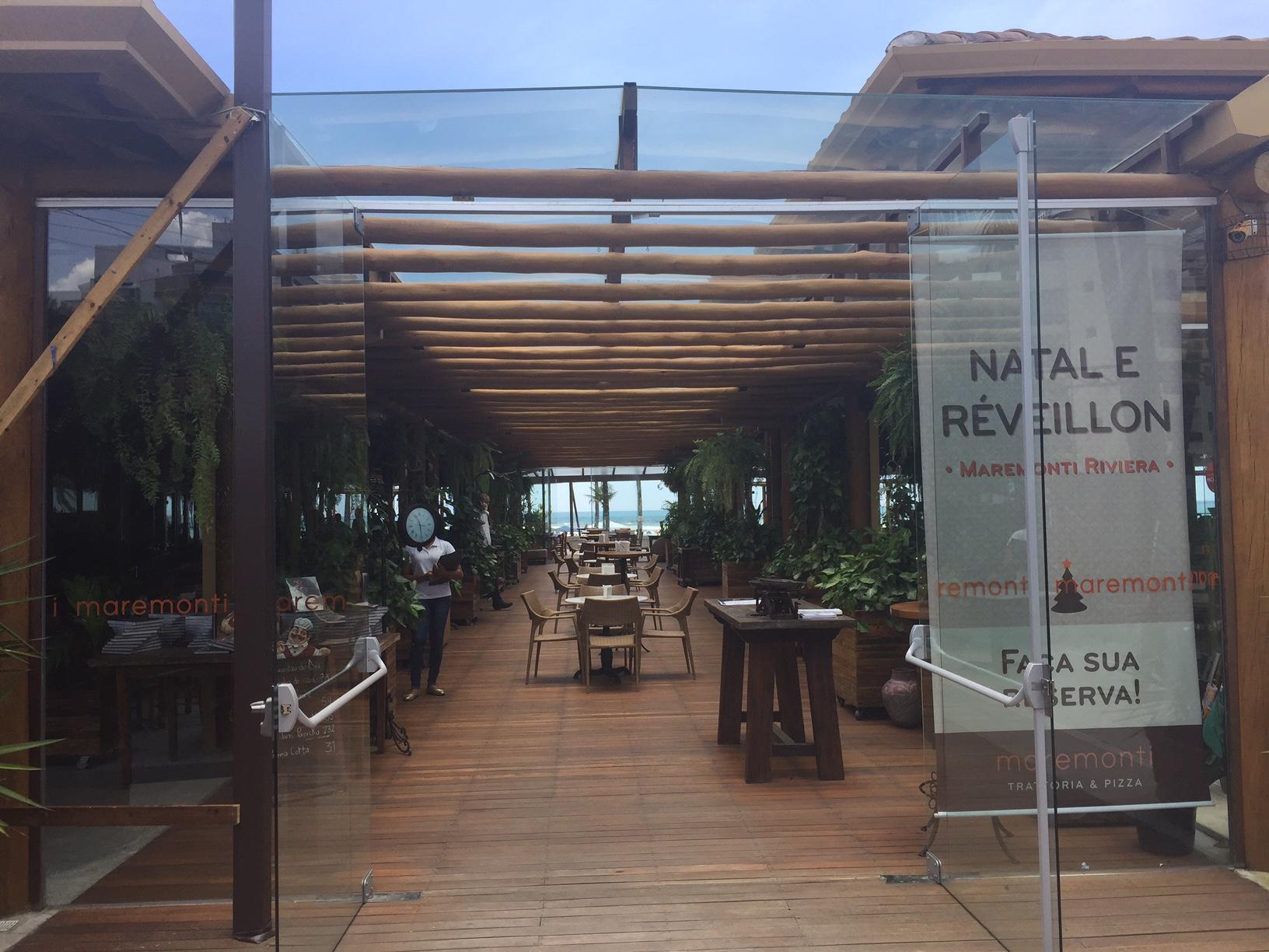 Restaurante Maremonti, ambiente amplo e agradável