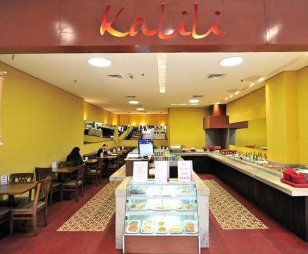 Kalili, comida árabe. Foto divulgação do site