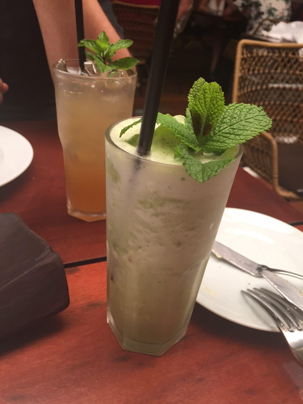 Os drinks sem álcool são bem exóticos e saborosos!