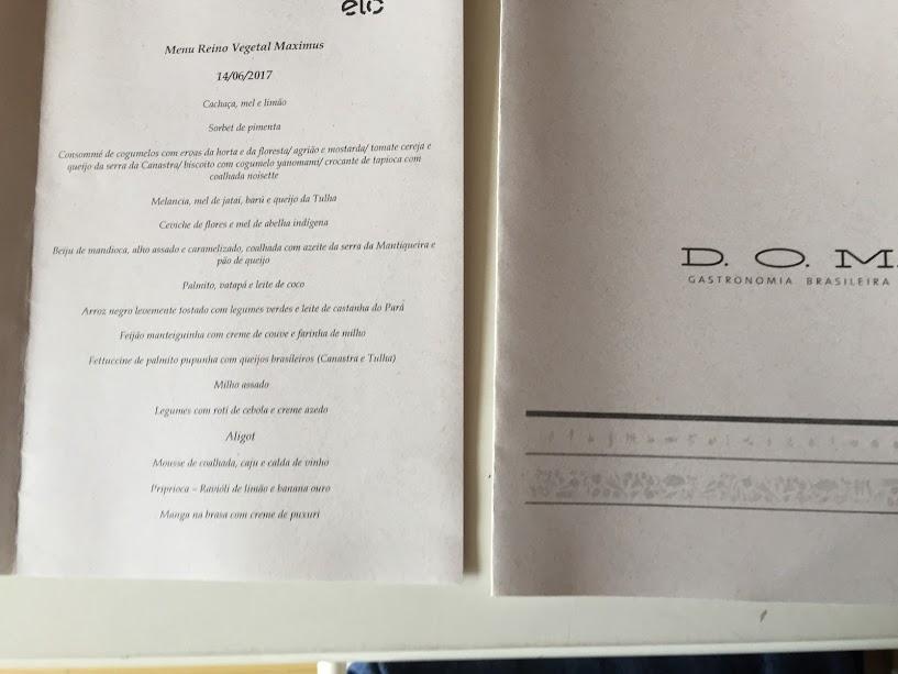 D O M Restaurante Uma Experiencia Unica Onde A Gastronomia E Arte